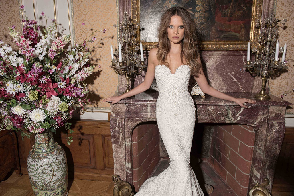 Berta Bridal Fall 2015 Wedding Dresses - Weddingola