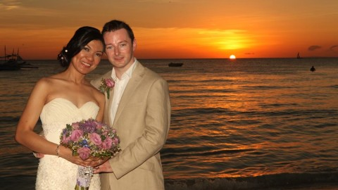 Boracay Wedding Ken and Sherylin in Sea Wind Resort