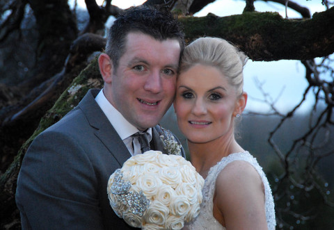 New Years Day Winter Wonderland Wedding at Breaffy House Hotel