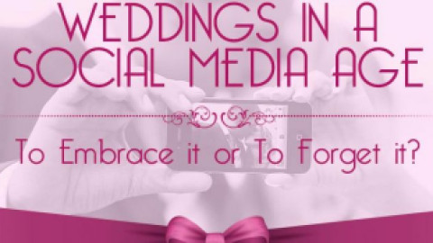 Weddings in a Social Media Age:To Embrace it or To Forget it?
